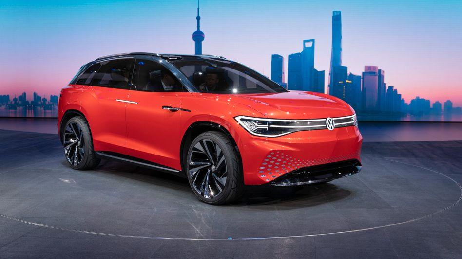 Volkswagens Elektroauto ID: Der Konzern investiert derzeit massiv in die Elektromobilität, das neue Elektroauto soll ab Herbst vom Band rollen