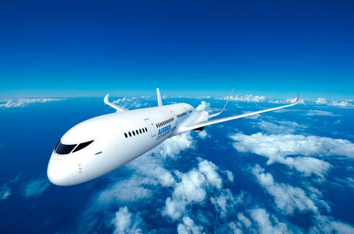 Etwas konservativer: Das Konzeptflugzeug von Airbus