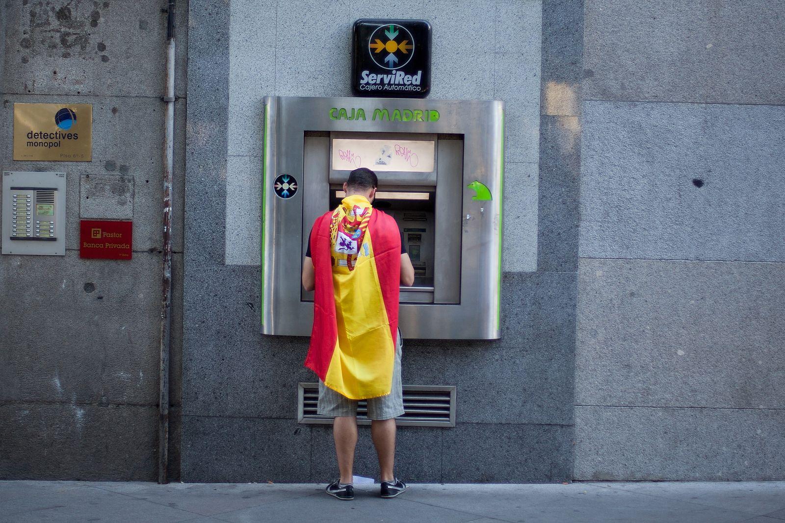 Madrid Geldautomat