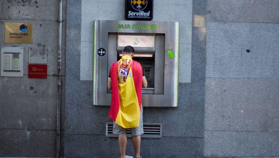 In der Finanzklemme: Banken geben Spaniens Unternehmen derzeit nur wenig Kredit