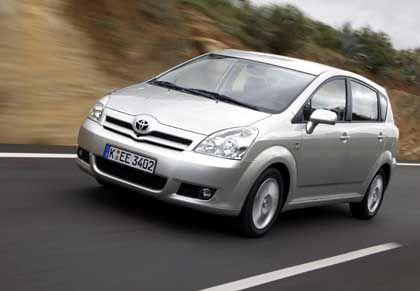 Wachsende Marktmacht Toyota: Die neue Van-Variante vom Siegerauto der J.-D.-Power-Studie, der Corolla Verso