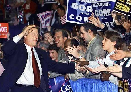 Kämpft um jede Stimme: Al Gore