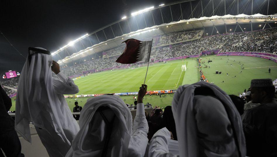 Khalifa-Stadion in Doha: Katar ist heiß auf die Fußball-WM 2022 - und wie Rio durchaus in der Lage, ein sportliches Großereignis auszurichten
