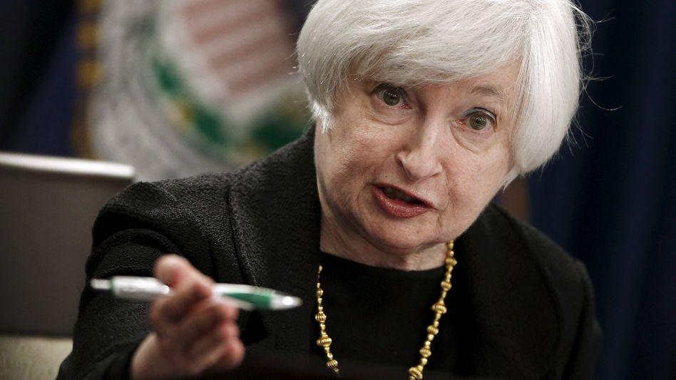 Fed-Chefin Janet Yellen: Erste Zinserhöhung seit fast 10 Jahren