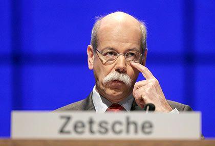 Erfolgreich: DaimlerChrysler-Chef Zetsche