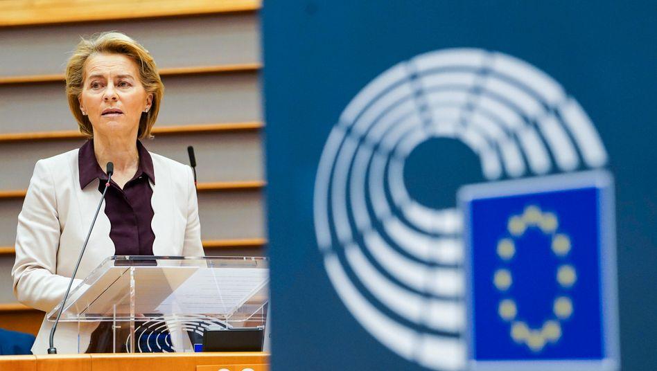 Budgetkönigin: EU-Kommissionschefin Ursula von der Leyen