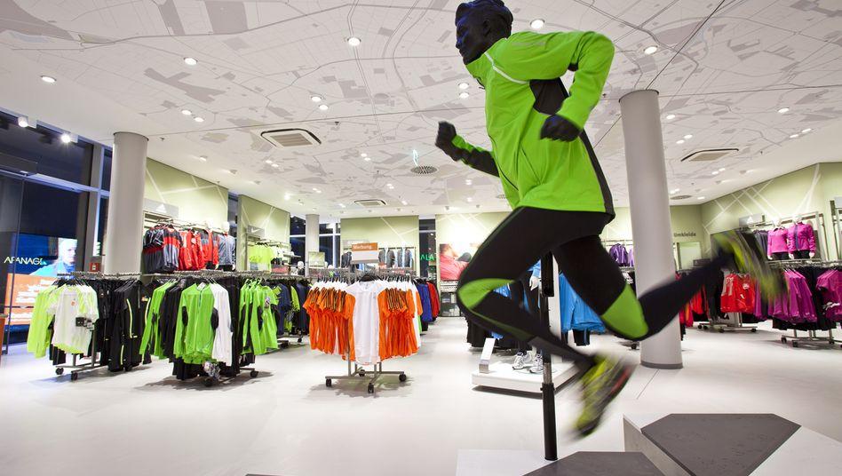 Sport-Scheck-Filiale in Berlin: In München soll alles anders werden