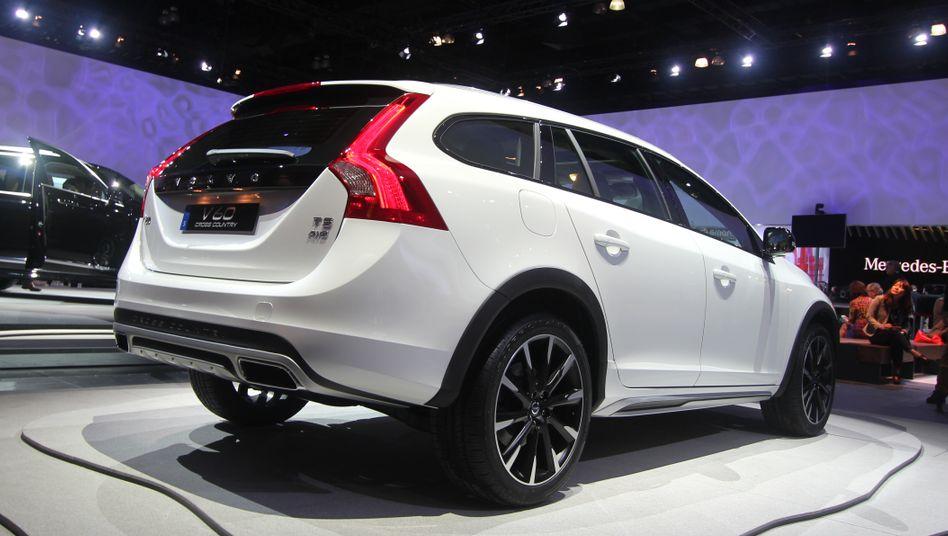 Präsentation des Volvo XC90 in Los Angeles im November: Künftig werden solche Messe-Bilder bei Volvo eher Seltenheitswert haben