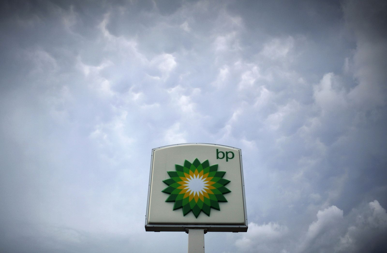 BP-Schild in Alexandria, VA