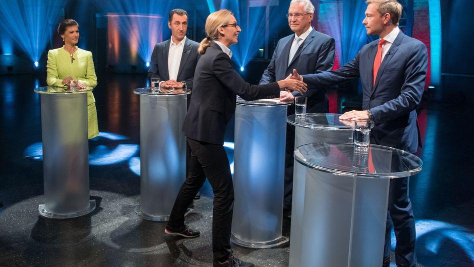 Kandidatenrunde: Moral ist zum Top-Wahlkampfthema avanciert