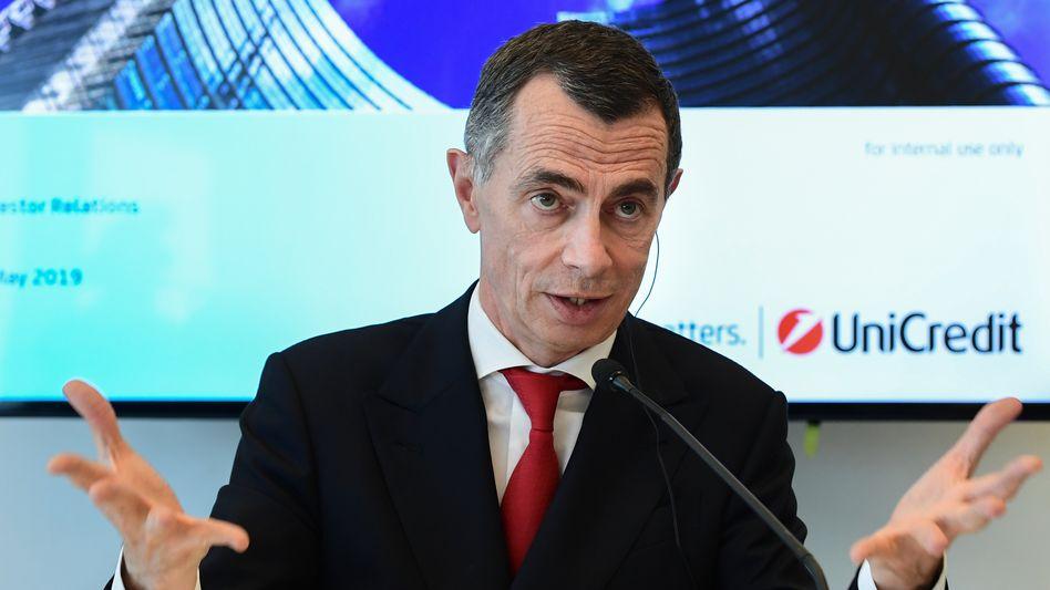 """""""Keine Fusionen und Übernahmen"""": UniCredit-Chef Jean-Pierre Mustier"""