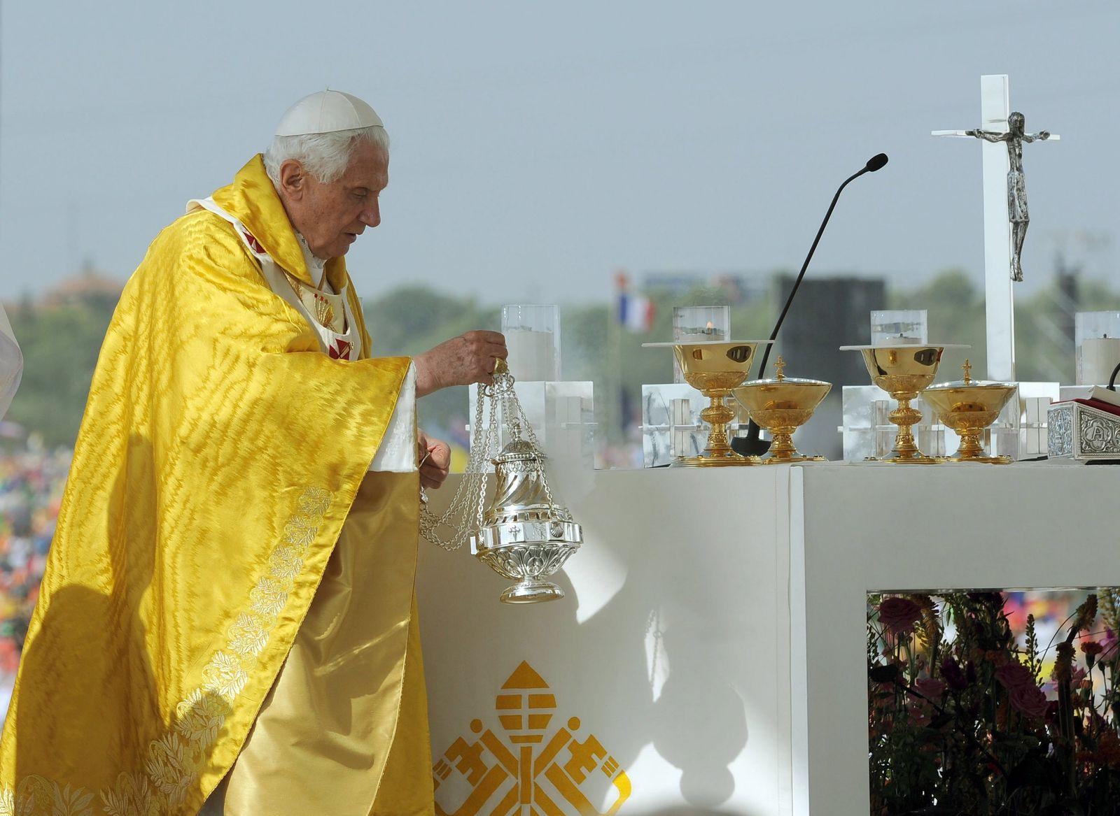 Papst / Weltjugendtag / Madrid / Messe VID