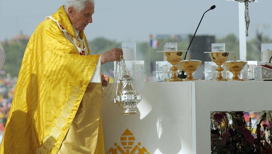 Papst Benedikt XVI: Zum Abschlussgottesdienst kamen rund 1,5 Millionen Gläubige