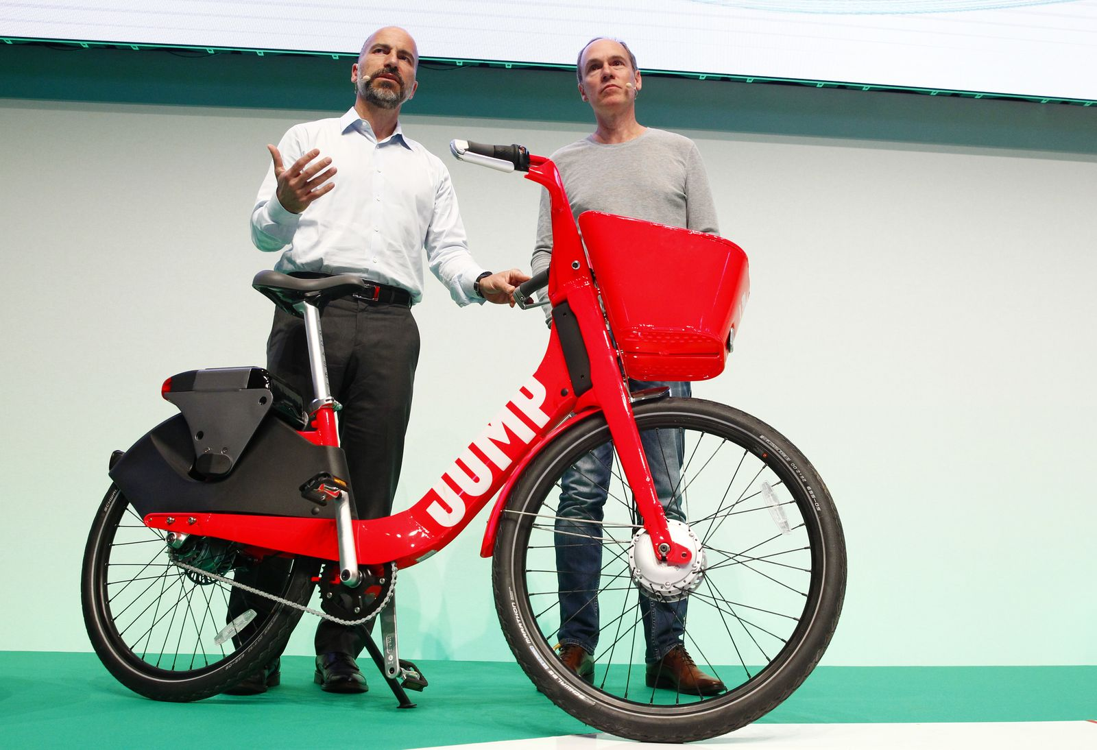 Dara Khosrowshahi / City Bike Sharing service / Jump