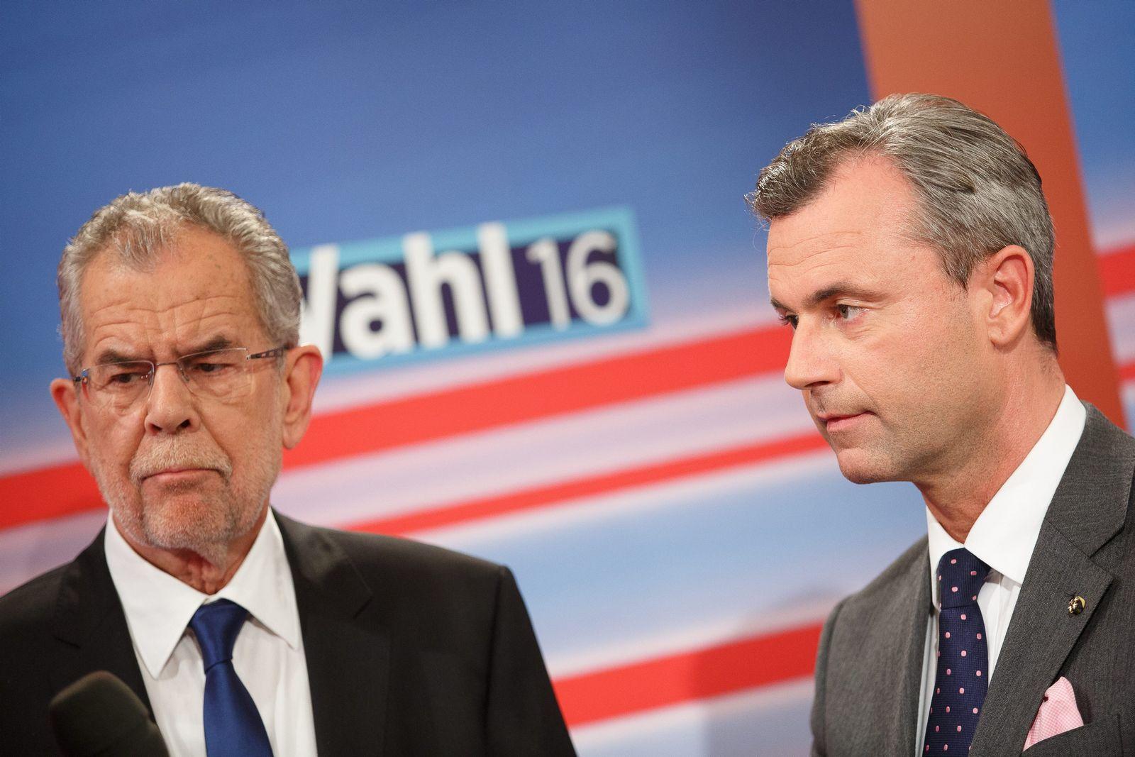Alexander Van der Bellen & Norbert Hofer