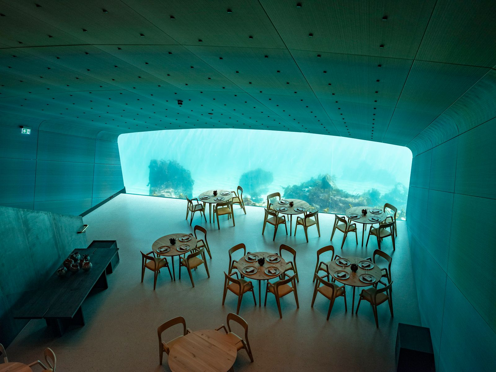 Unterwasserrestaurant in Norwegen eröffnet