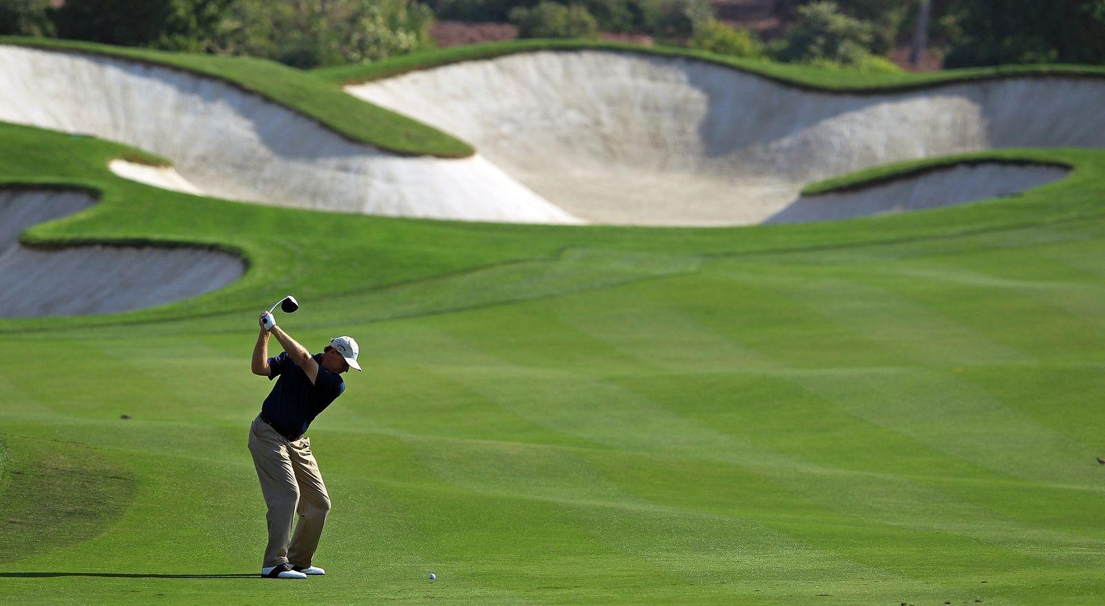 Golf spielen / Golfen / Golfplatz / Ernie Els