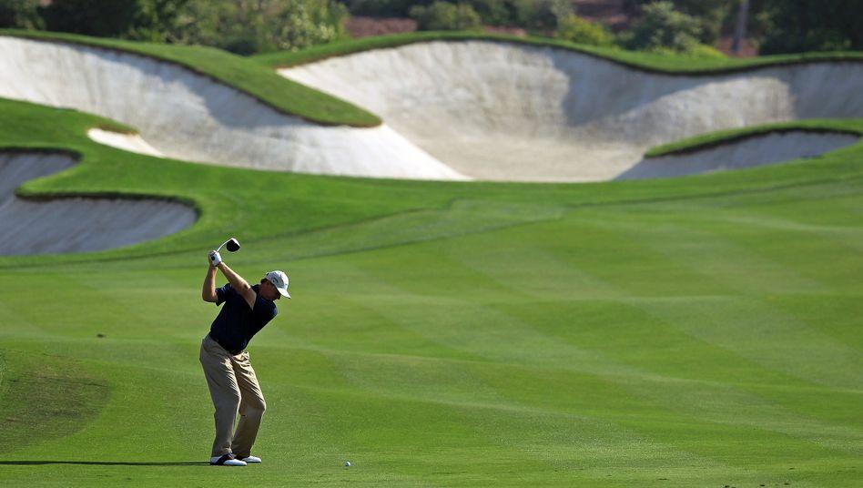 Energieintensiver Sport: Vor allem Wasserpumpen lassen die Stromrechnung von Golfclubs steigen