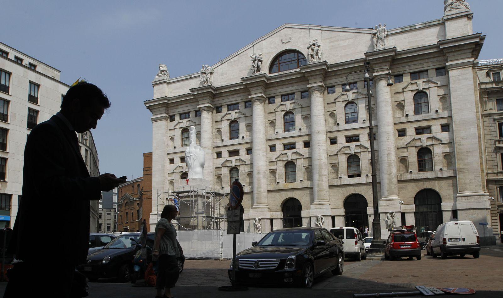 Italien/ Börse/ Mailand