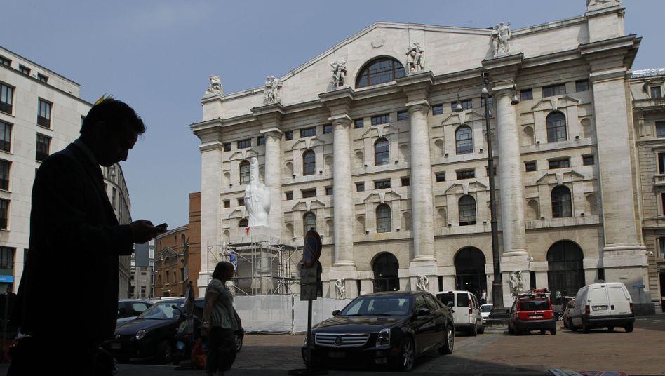 Börse in Mailand: Derivate-Geschäft mit Folgewirkung