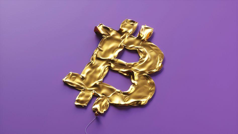Luft raus: Bei einem Kollaps wäre die goldene Zeit des Bitcoin vorbei