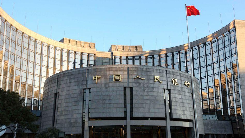 Impuls für die Konjunktur: Zentrale der Chinesischen Volksbank