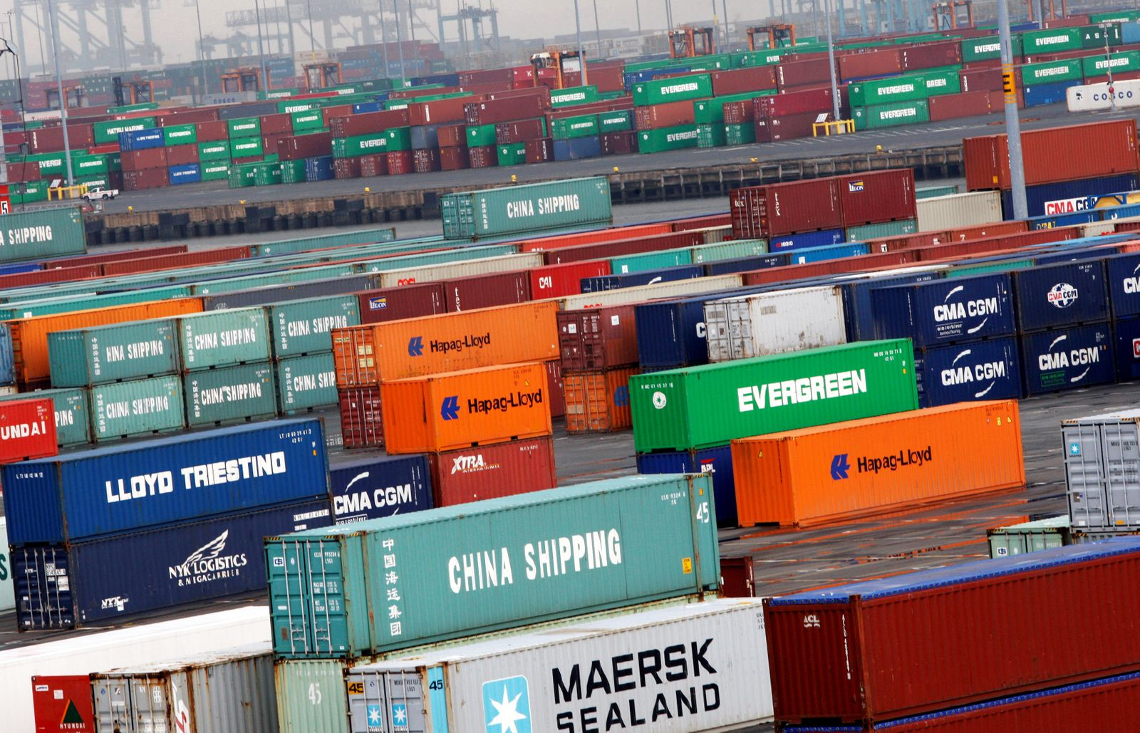 USA / Export / Import / Konjunktur / Container