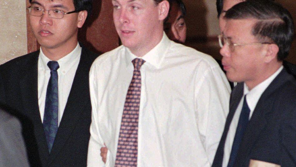 Verhaftung Nick Leesons in Singapur 1995: Heute plant der Trader ein Comeback
