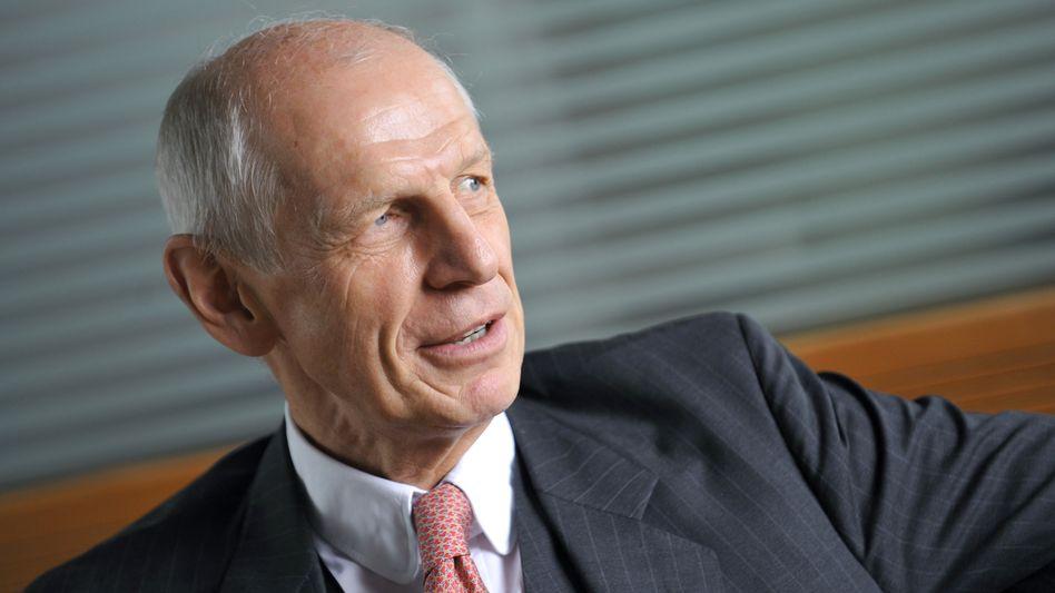Gegenangriff: Ludwig Georg Braun, Chef des Medizintechnikherstellers B. Braun Melsungen, reagiert ...