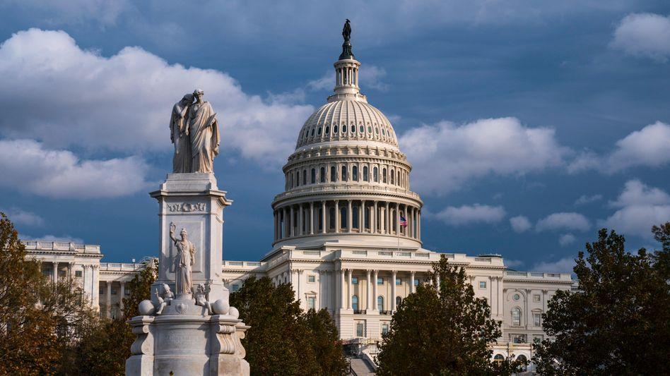 Kapitol in Washington: US-Kongress einig über weitere Milliarden-Hilfen für Unternehmen