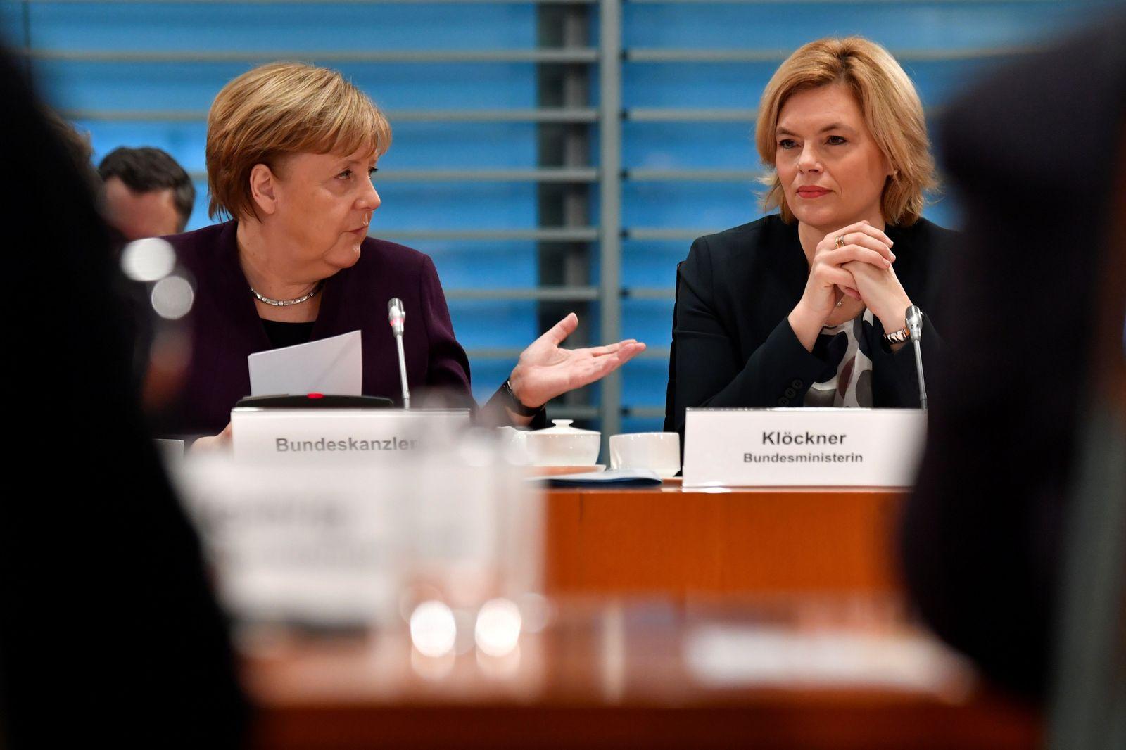 Angela Merkel / Julia Kloeckner
