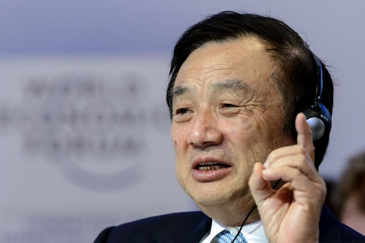Huawei-Gründer und -CEO Ren Zhengfei