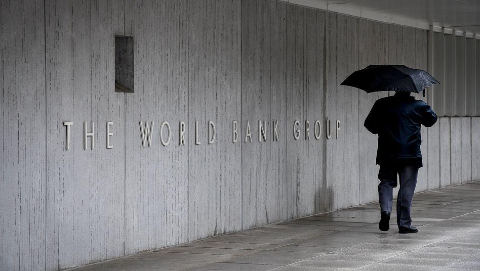 Trauerspiel in Washington: Was sind die Zahlen der Weltbankgruppe wert?