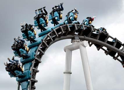 Turbulent: Händler rechnen auch für die kommende Woche mit stark schwankenden Indizes - kein Geschäft für schwache Nerven.