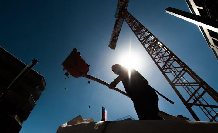Ziemlich viel Kies: 238 Millionen Tonnen Sand und Kies wurden 2014 aus dem deutschen Boden geholt