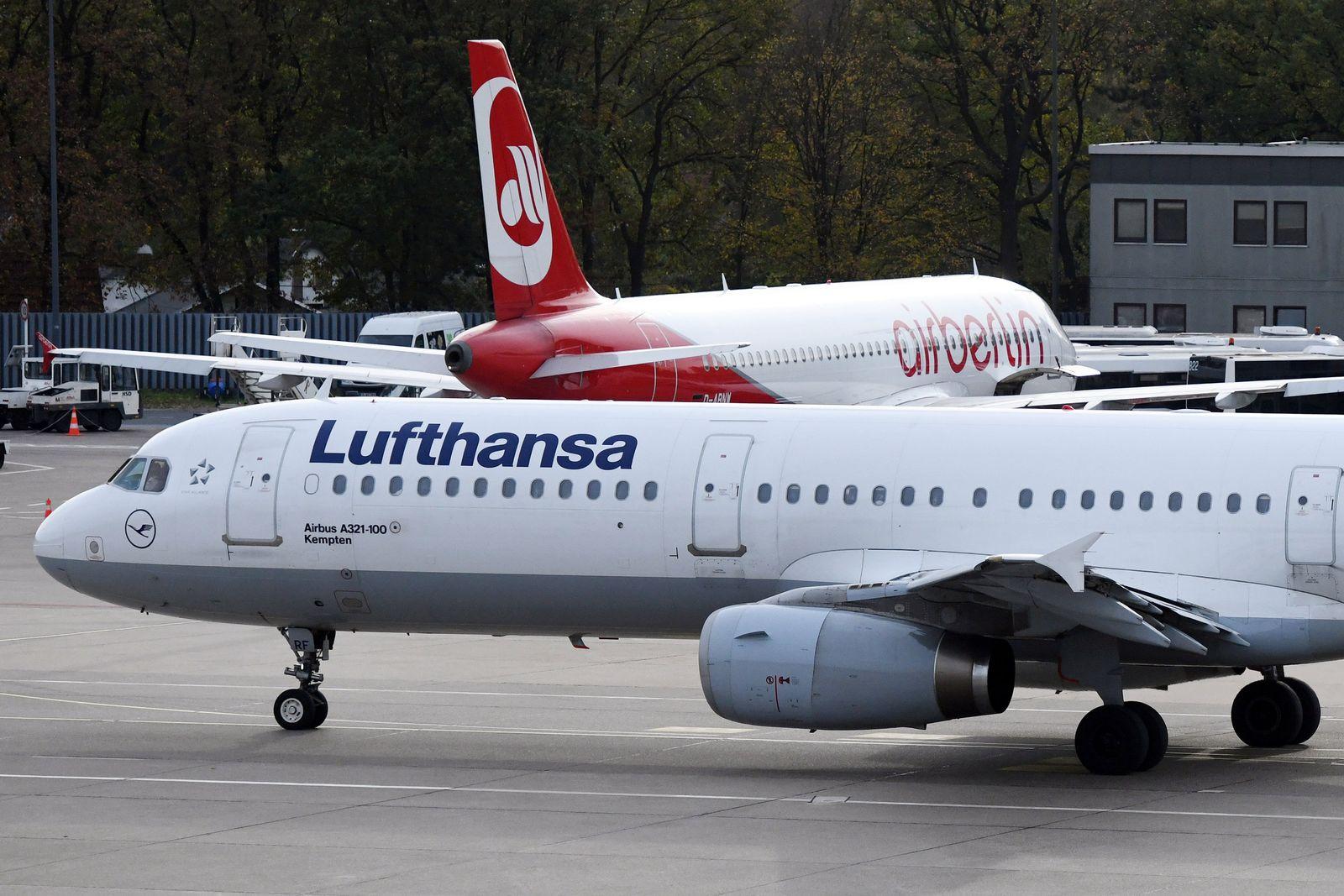 Lufthansa Air Berlin