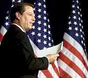 Hofft noch auf den Sieg: Al Gore
