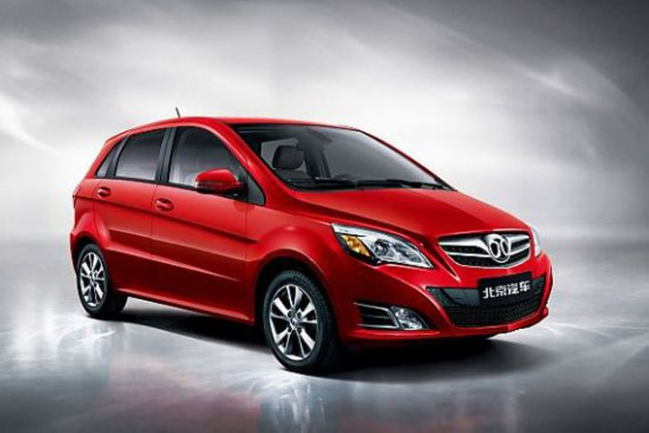 So sieht Chinas Nummer zwei bei Elektroautos aus: BAICs E-Serie EVs kommen in diesem Jahr auf 28.365 Verkäufe
