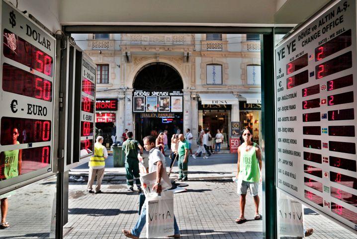 Das türkische Bruttoinlandsprodukt schwächelt