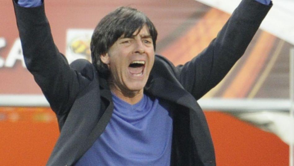Erfolgreicher WM-Start: Bundestrainer Joachim Löw