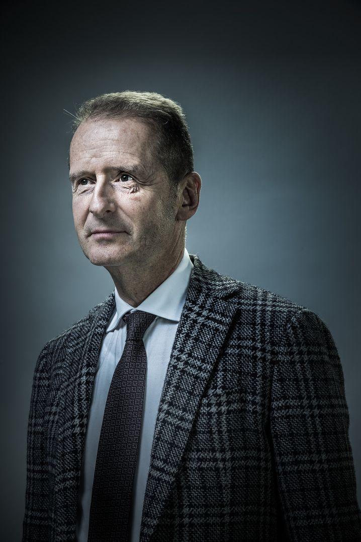 Großes Karo: Konzernanleiter Herbert Diess.