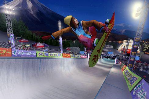 """Große Sprünge: """"Shaun White"""" auf der Wii-Konsole"""