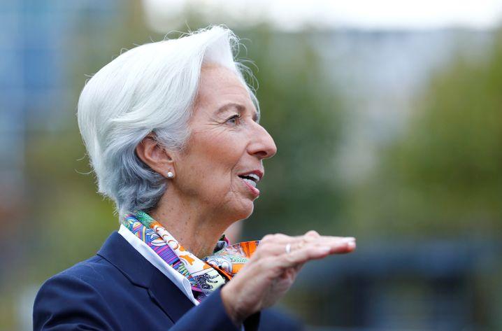 EZB-Chefin Christine Lagarde: Die Erwartungen sind enorm