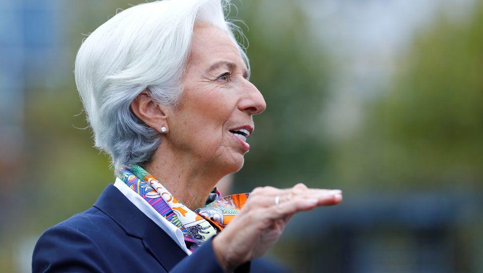 EZB-Chefin Christine Lagarde: Anleihekäufe wieder aufgenommen