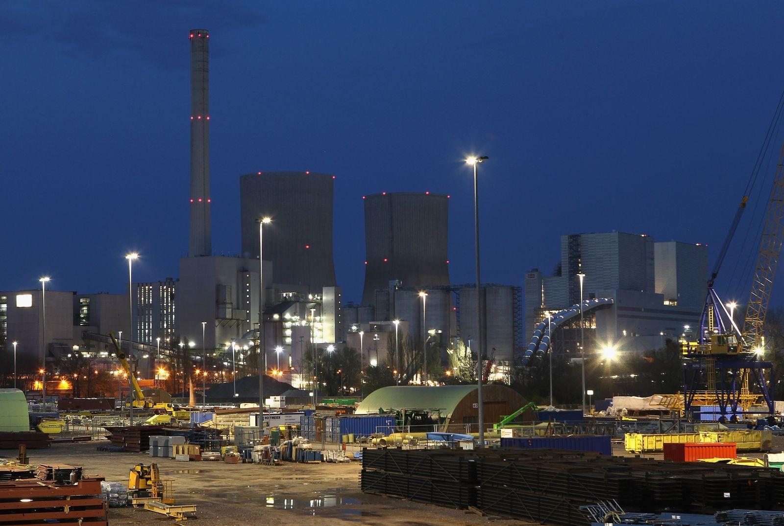 RWE Steinkohlekraftwerk Hamm