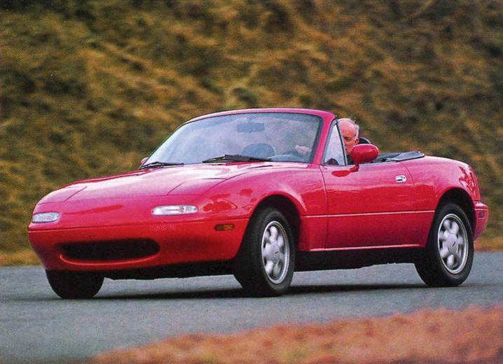 Einer für alle Der Mazda Miata, in Europa als MX-5 bekannt, wurde vor 30 Jahren vorgestellt. Der kleine, wendige Roadster bereitete den Boden für Autos wie den Audi TT oder den Mercedes SLK