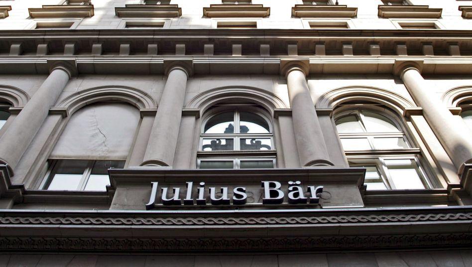 Julius Bär in Zürich (Bild Archiv)