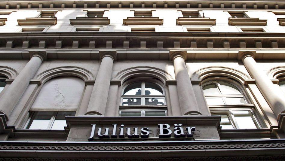 Julius Bär Niederlassung in Zürich: Die Schweizer Privatbank ist erneut ins Visier der Ermittler geraten