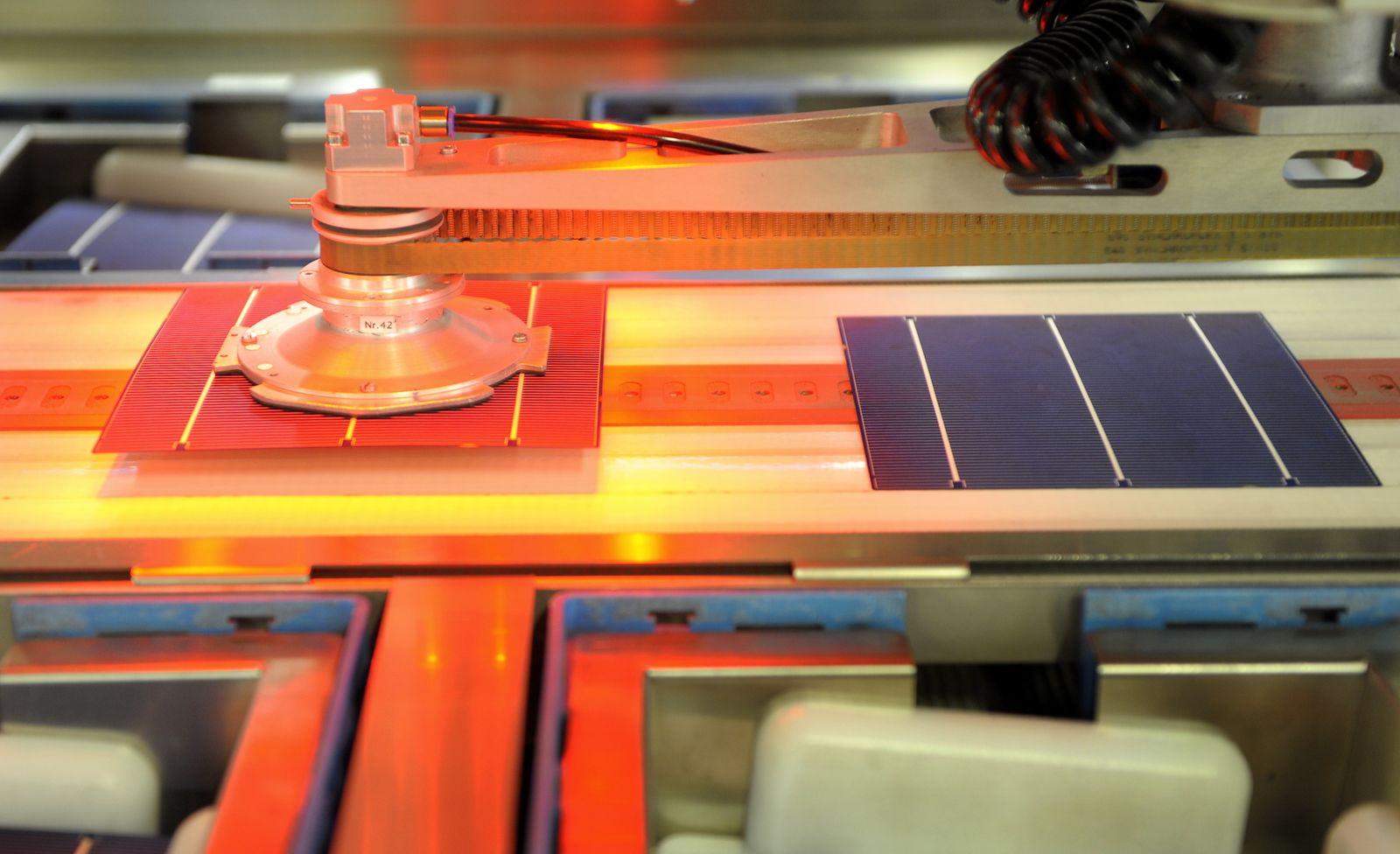 NICHT VERWENDEN Solarworld / Herstellung