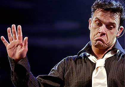Noch bei EMI unter Vertrag: Popstar Robbie Williams